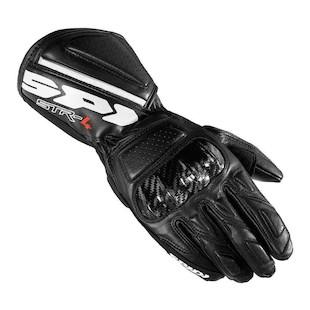 Spidi STR-4 Gloves (Color: Black / Size: SM) 1046648