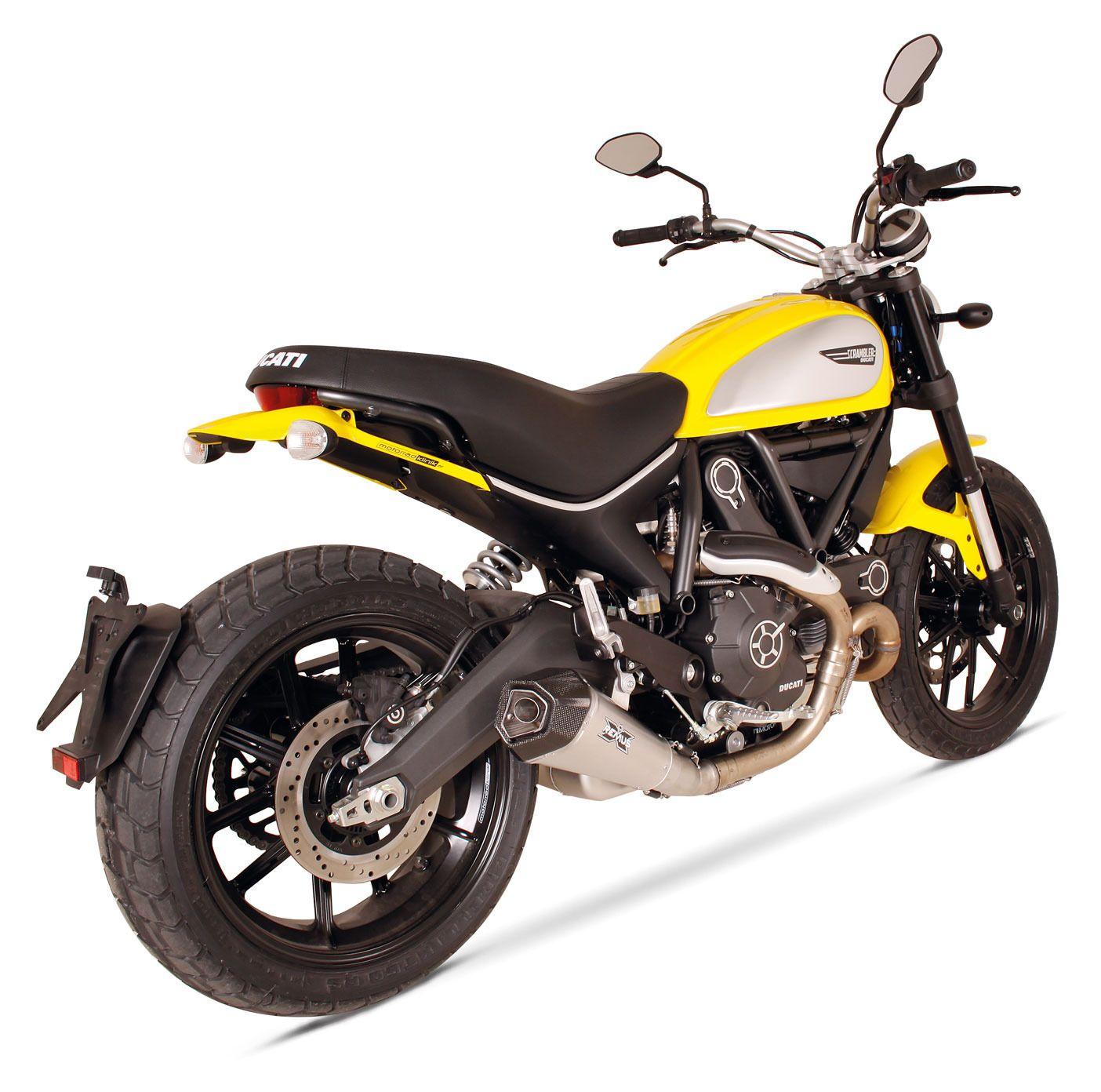 Pro Taper Handlebars >> Remus HyperCone Slip-On Exhaust Ducati Scrambler 2015-2019 ...