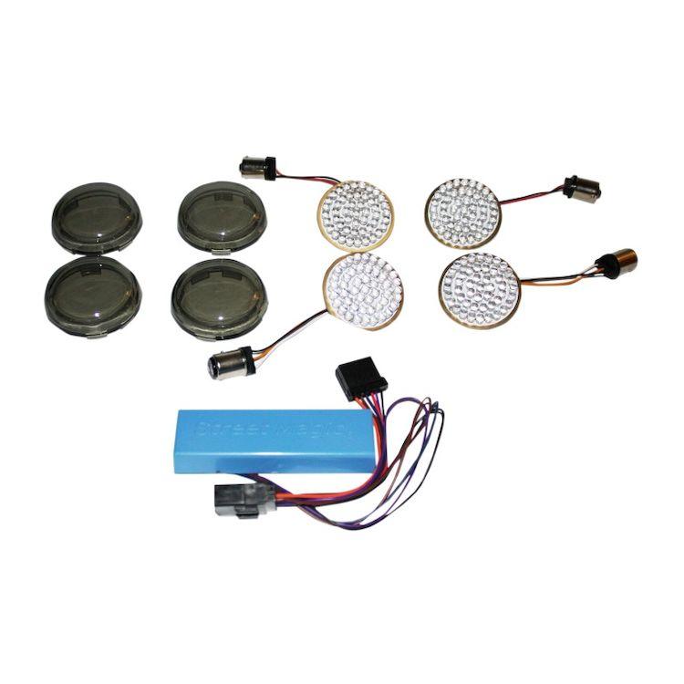 Custom Dynamics LED Turn Signal Conversion Kit For Harley Sportster 2004-2013
