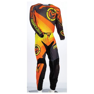 Moose Racing Sahara Pants (Color: Orange/Yellow/Black / Size: 34) 1047559