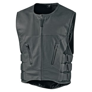 Icon Regulator Stripped Vest (Color: Stealth Black / Size: LG-XL) 736052