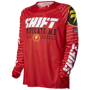 Shift Strike Jersey (Color: Red / Size: LG)