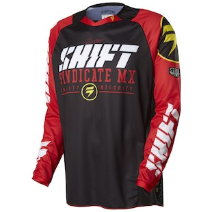Shift Strike Jersey (Color: Black / Size: SM)