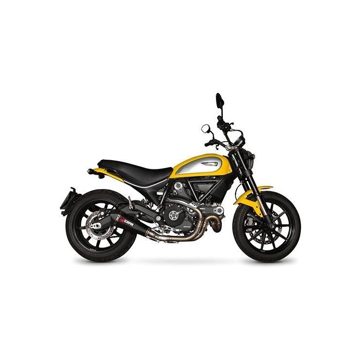 Scorpion Serket Taper Slip-On Exhaust Ducati Scrambler 2015-2018