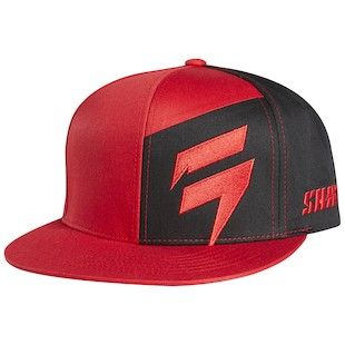 Shift Contrasted Hat (Color: Red) 1050128
