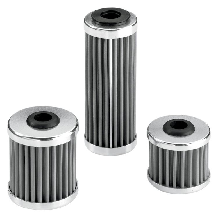 Moose Racing Stainless Steel Oil Filter