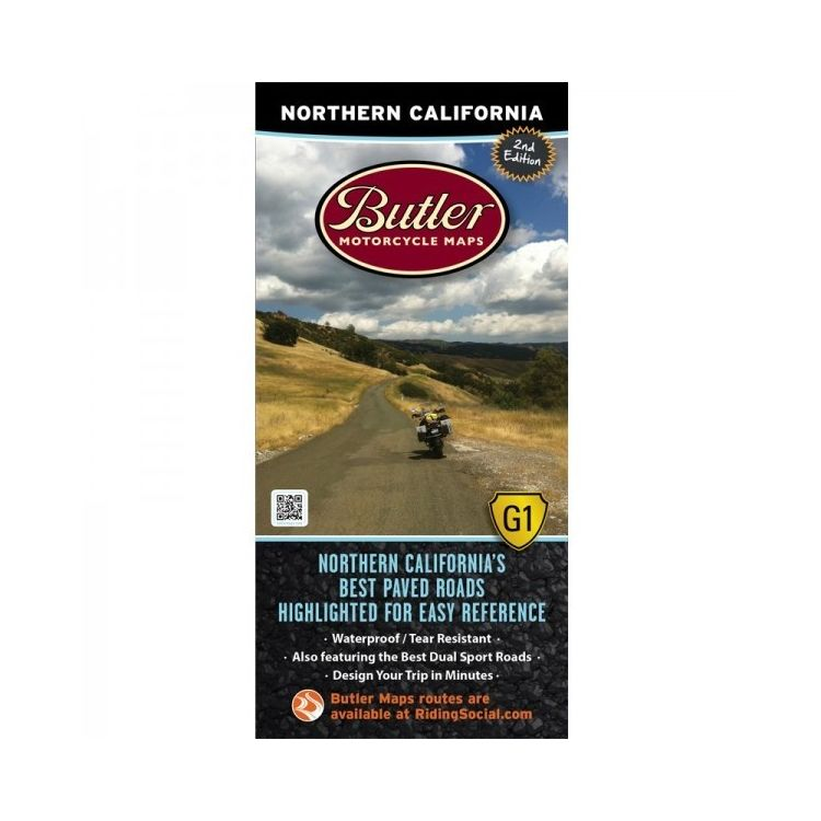 Butler Maps Northern California
