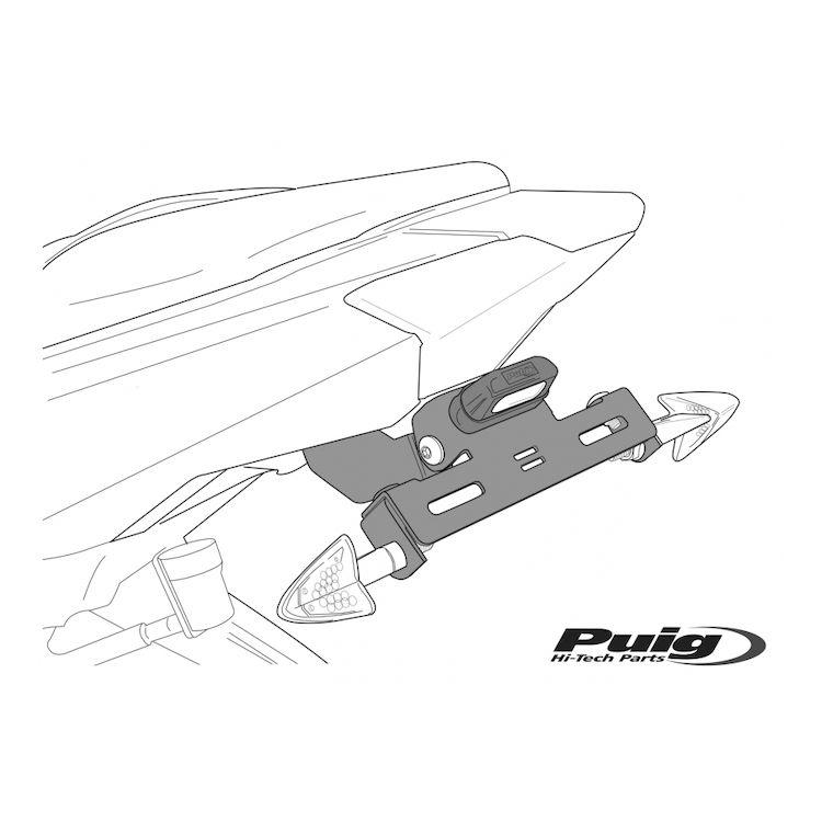 Puig Fender Eliminator Kit Ducati Monster 821 2015-2017