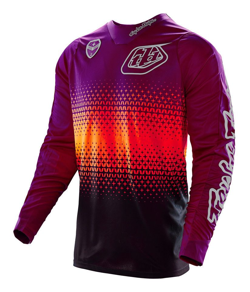 Troy Lee Se Starburst Jersey Cycle Gear