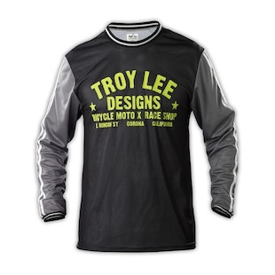 Troy Lee Super Retro Jersey (Color: Grey / Size: XL) 1053394