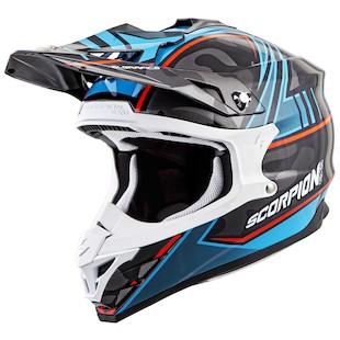 Scorpion VX-35 Miramar Helmet (Color: Blue / Size: XS) 1056253