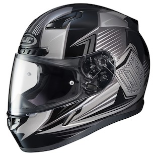 HJC CL-17 Striker Helmet (Color: Grey/Black / Size: 3XL) 1057172