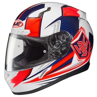 HJC CL-17 Cosmos Women's Helmet (Color: White/Pink / Size: XS) 1160759