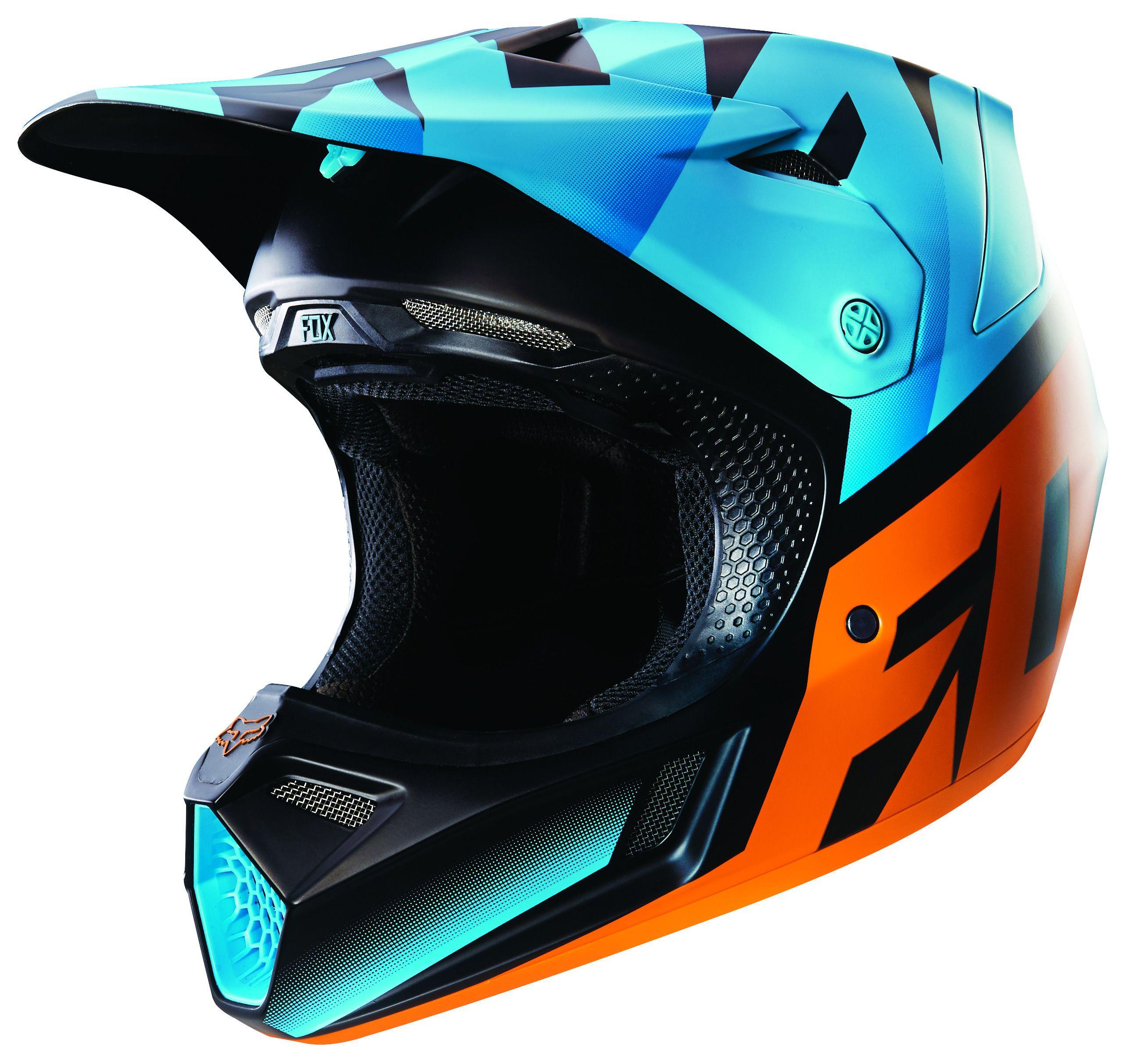 Fox Racing V3 Seca Le Helmet Cycle Gear