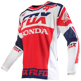 Fox Racing 180 Honda Jersey (Color: White / Size: SM) 1057882