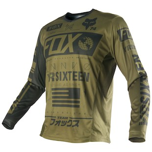 Fox Racing Nomad Union Jersey (Color: Army / Size: 2XL) 1058050