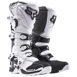 Fox Racing Comp 5 Boots (Color: White / Size: 11) 1058286