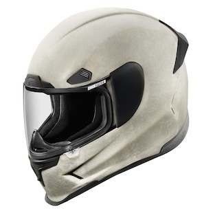 Icon Airframe Pro Construct Helmet (Color: White / Size: MD) 1058636