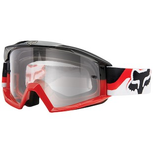 Fox Racing Main Race 1 Goggles (Color: Red/Black) 1058964