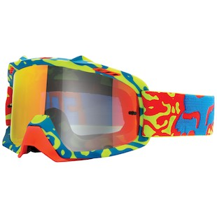 Fox Racing Youth AIRSPC Cauz Goggles (Color: Yellow/Red) 1058939