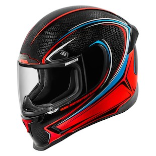 Icon Airframe Pro Halo Carbon Helmet (Color: Carbon Glory / Size: 2XL) 1058676