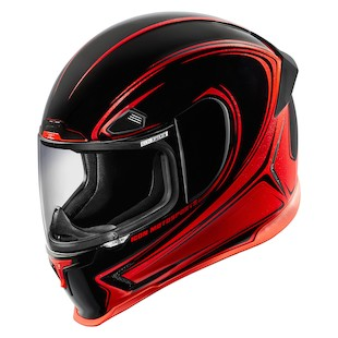 Icon Airframe Pro Halo Helmet (Color: Red / Size: MD) 1058701