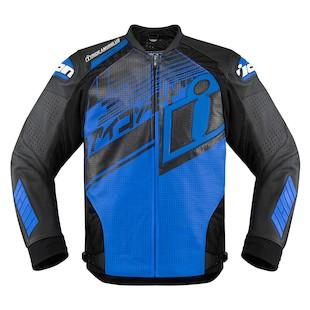 Icon Hypersport Prime Hero Jacket (Color: Blue/Black / Size: MD) 1058801