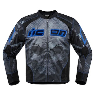 Icon Overlord Reaver Jacket (Color: Blue / Size: LG) 1058824