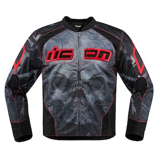 Icon Overlord Reaver Jacket (Color: Red / Size: 2XL) 1058836