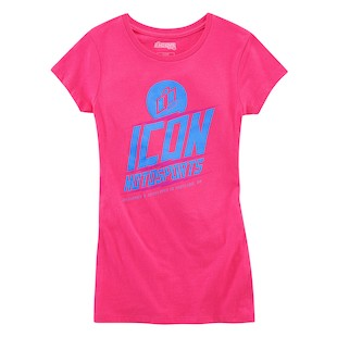 Icon Charged Women's T-Shirt (Color: Pink / Size: SM) 1058766