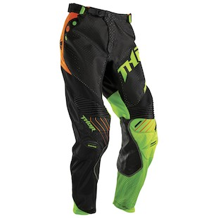 Thor Core Air Divide Pants (Color: Black/Fluorescent / Size: 32) 1059526