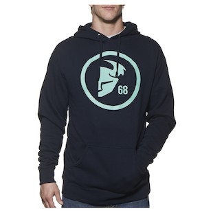Thor Gasket Pullover Hoody (Color: Navy/Mint Green / Size: XL) 1060878