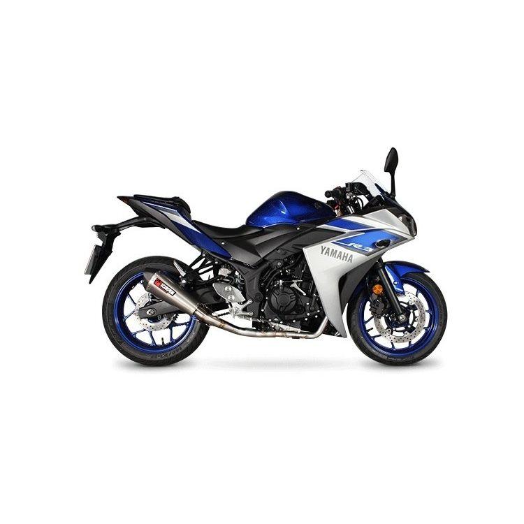 Scorpion Serket Taper Exhaust System Yamaha R3 2015-2019