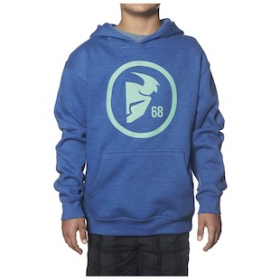 Thor Youth Gasket Pullover Hoody (Color: Heather Blue / Size: XL) 1061623