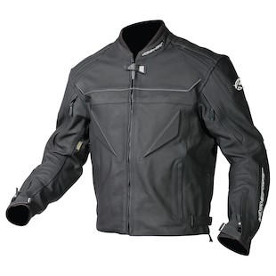 AGV Sport Willow Leather Jacket (Color: Black / Size: 52) 615218