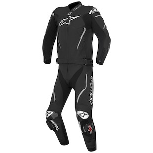 Alpinestars Atem 2-Piece Race Suit (Color: Black / Size: 52) 1062061
