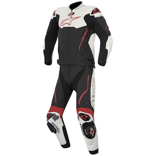 Alpinestars Atem 2-Piece Race Suit (Color: Black/White/Red / Size: 54) 1062055