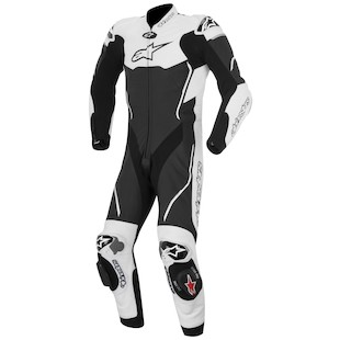 Alpinestars Atem Race Suit (Color: Black/White / Size: 50) 1062046