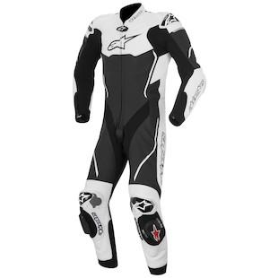 Alpinestars Atem Race Suit (Color: Black/White / Size: 56) 1062049