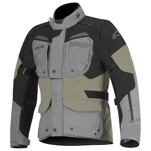 Alpinestars Durban Gore-Tex Jacket (Color: Grey/Black/Sand / Size: 48) 1063066