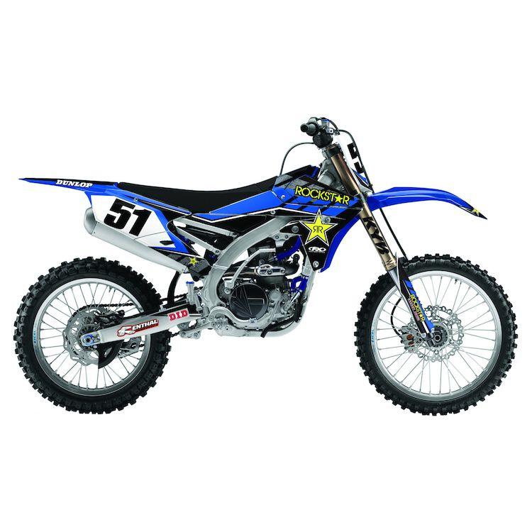 Factory Effex Complete Rockstar Graphics Kit Yamaha YZ450F 2010-2013
