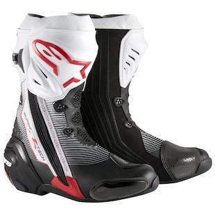 Alpinestars Supertech-R Boots (Color: Black/Red/White / Size: 43) 1062535