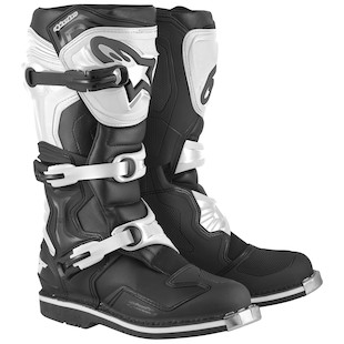 Alpinestars Tech 1 Boots (Color: Black/White / Size: 8) 1062775