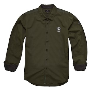 Alpinestars Campo Shirt (Color: Army Green / Size: LG) 1062126