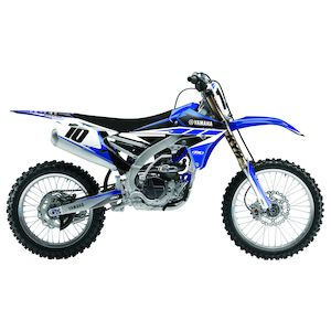 Yamaha PW 80 1991-2012 Red Progrip Handle Bar Motocross MX Grips