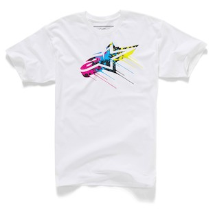 Alpinestars Drips T-Shirt (Color: White / Size: 2XL) 1062308