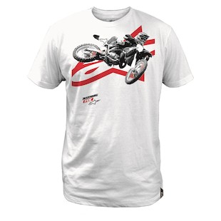 Alpinestars Moto Photo T-Shirt (Color: White / Size: XL) 1062232