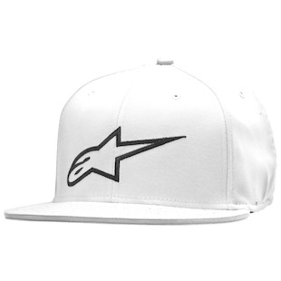 Alpinestars Corp Hat (Color: White / Size: SM-MD) 1062452