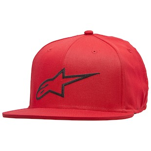 Alpinestars Corp Hat (Color: Red / Size: SM-MD) 1062450