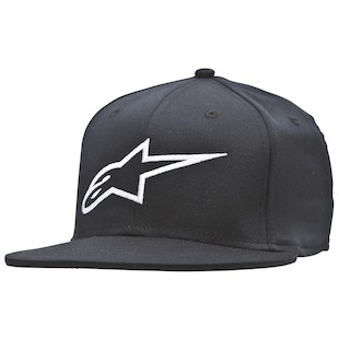 Alpinestars Corp Hat (Color: Black / Size: LG-XL) 1062449
